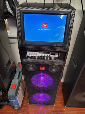 Karaoke speaker 12,000 watts for Sale in Fontana, CA