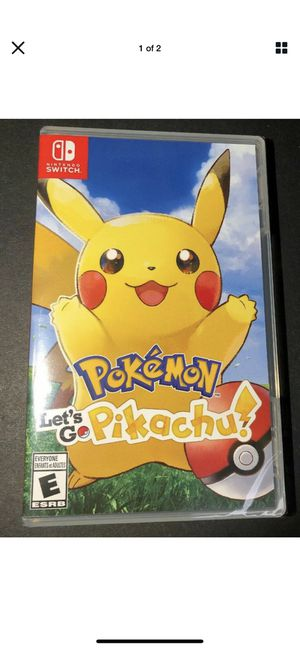 Pokémon Let's go Pikachu for Sale in Joliet, IL