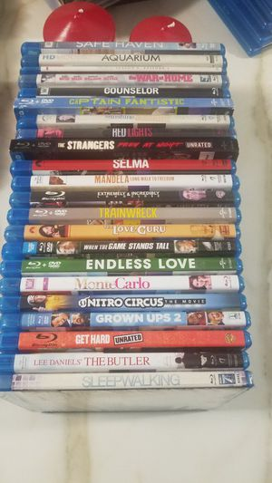 BLU-RAY MOVIES. for Sale in Glen Ellyn, IL
