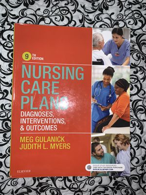 Nursing Care Plans: Diagnoses, Interventions and Outcomes for Sale in Hialeah, FL
