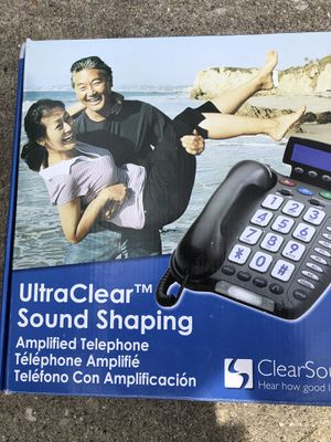 Amplified telephone/speakerphone for Sale in Elk Grove Village, IL