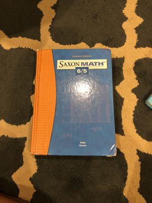 Saxon Math 6/5 for Sale in Scottsdale, AZ