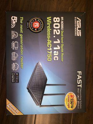 ASUS RT-AC66U Dual-Band Gigabit Router (AC 1750) for Sale in Renton, WA