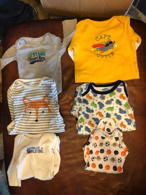Onesies long sleeve 6-9 months for Sale in Baltimore, MD