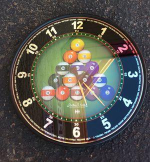Billards Clock for Sale in Tempe, AZ