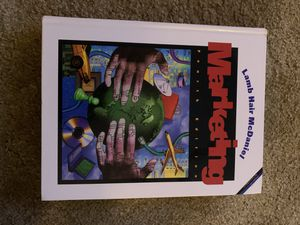 Marketing Textbook 4E Hardcover Charles W. Lamb for Sale in Baytown, TX