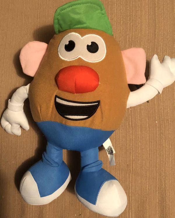 "BNWT! 2019 Toy Factory Mr. Potato Head Plush Stuffed Animal Doll 11"" Playskool"