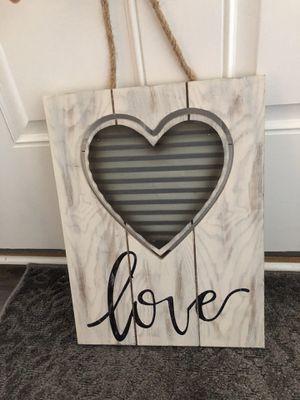 love frame for Sale in Richmond, VA