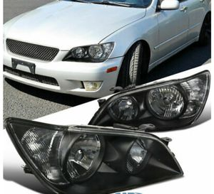 Lexus is 300 black headlights for Sale in Federal Way, WA