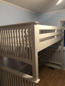 Pottery Barn Loft bed for Sale in Rochester,  MI