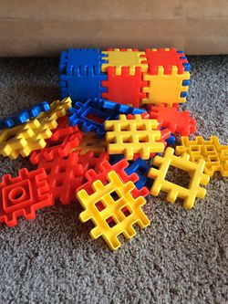 Vintage Little Tikes Waffle Blocks for Sale in Kent,  WA