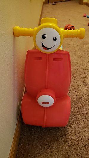 Fisher price scooter for Sale in Scott Air Force Base, IL