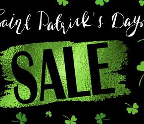 Saint Patrick's Sale Vanitys On Sale Now Only for Sale in Anaheim,  CA