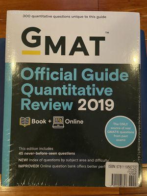 New Gmat Prep Book 2019 for Sale in Rowland Heights, CA