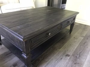 Hard scrapes living room coffee table. for Sale in Midlothian, VA