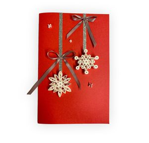 Handmade Quilling Christmas Card - Star for Sale in Norfolk, VA