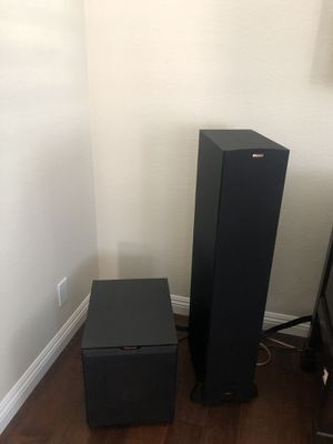 Klipsch Speakers and Subwoofer for Sale in San Jose, CA