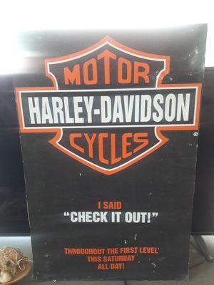 Harley poster for Sale in Fullerton, CA