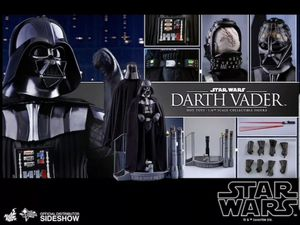 Hot toys star wars darth vader deluxe 1/6 figure for Sale in Montebello, CA