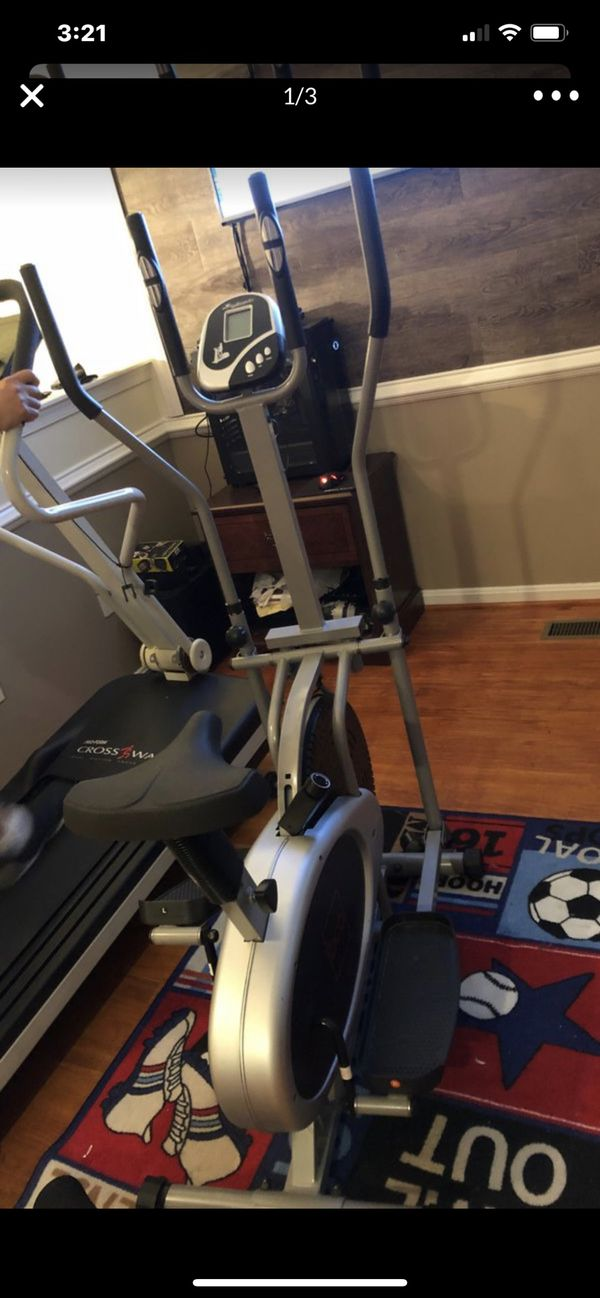 Elliptical work out brand new