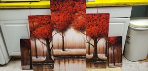 5 Piece Wall Art for Sale in Parkersburg, WV