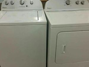 Washer and Gas dryer or separate 4 months warranty for Sale in Alexandria, VA