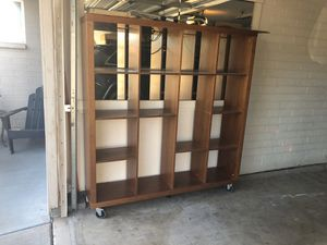 Wood Shelf Cube Cubby 16 Shelves Total for Sale in Scottsdale, AZ