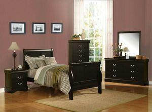 Bedroom set all new in box Twin or Full Juego De Habitación Todo Nuevo En Su Caja for Sale in Miami, FL