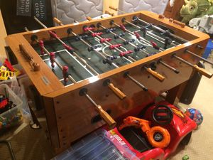 Foosball Harvard excellent condition. Football Table for Sale in West Springfield, VA
