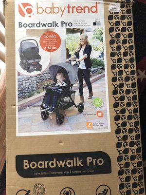 Boardwalk Pro Baby stroller & Car seat for Sale in Dallas, TX