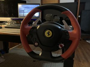 Thrustmaster Ferrari 458 Spider Race wheel for Xbox One for Sale in Princeton, NC