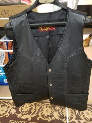 Leather vest medium unisex for Sale in Sun Lakes, AZ