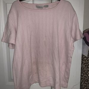 Kids Large Pink Basic Editions Shirt Short Sleeve (60% Cotton / 40% Polyester) for Sale in Centreville, VA