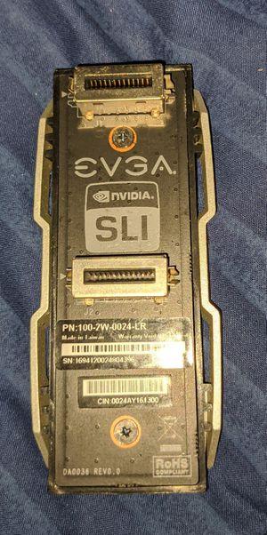 EVGA Pro SLI Bridge V2 2-Way Long Video Card SLI Bridge for Sale in Baton Rouge, LA