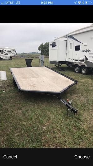 2014 diamond c 12' trailer for Sale in Amarillo, TX