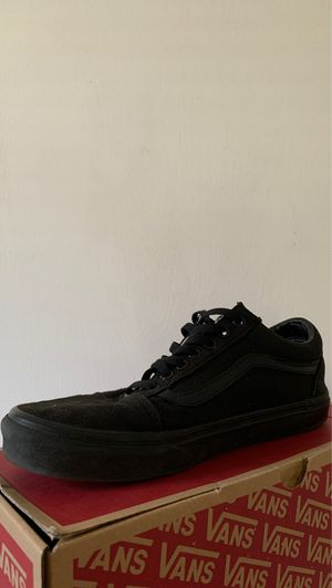 All black vans for Sale in San Jose, CA