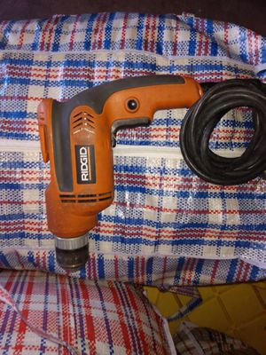 Rigid drill power drill with new drill bits for Sale in Los Angeles, CA