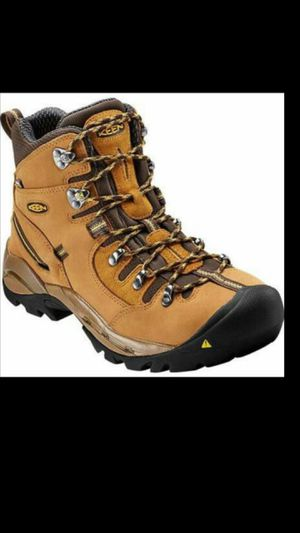KEEN UTILITY PITTSBURGH STEEL TOE WATERPROOF WORK HIKER Boots Size 11.5 wide boots for Sale in Salt Lake City, UT