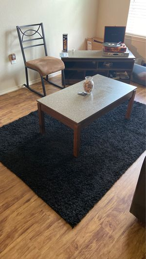 Large black carpet for Sale in Nacogdoches, TX