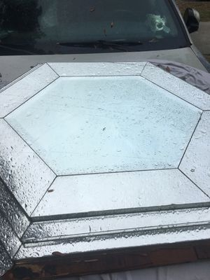 Diamond shaped glass mirror for Sale in Tampa, FL