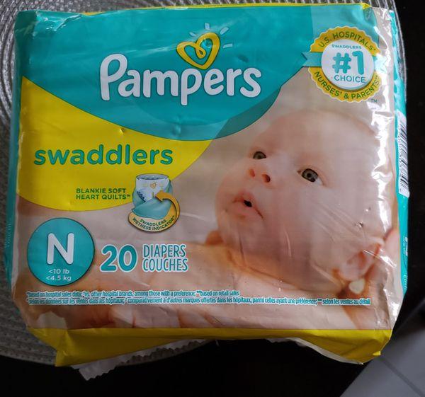 Pampers newborn size