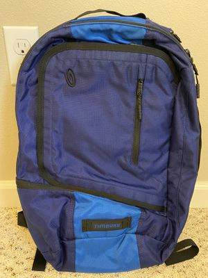 Timbuk2 Q Travel Work Laptop Backpack in Dust Blue for Sale in Puyallup, WA
