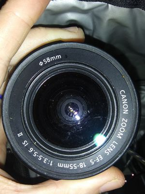 Canon lense for camera for Sale in Portland, OR
