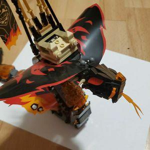 Lego Ninjago Fire Fang Snake Lego for Sale in Fort Lauderdale, FL