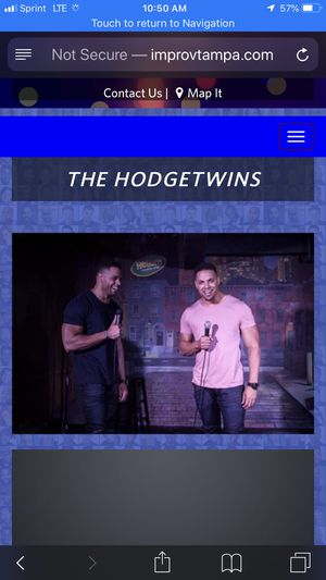One ticket to the hodge twins in Tampa on 10-7 for Sale in Port Charlotte, FL