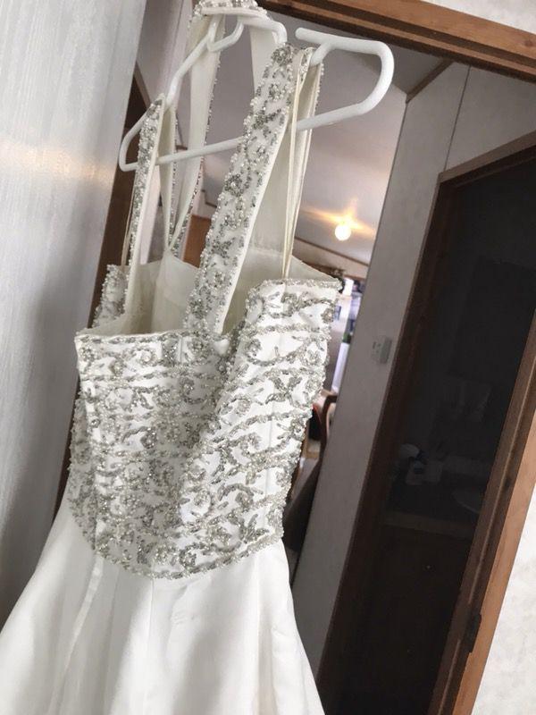 Scaasi Bride For Eva Forsyth Designer Wedding Dress For Sale In