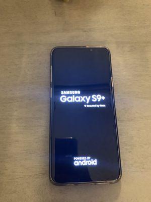 Samsung - Galaxy S9+ 64GB (Unlocked) - Midnight Black for Sale in Atlanta, GA