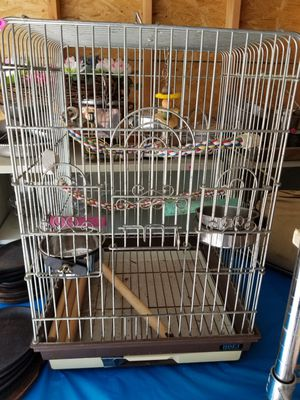 Hoei,Penn Plax Bird cage for Sale in Cincinnati, OH