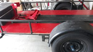 Utility trailer in great shape, new wood and tires for Sale in Torrance, CA