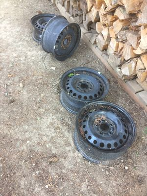 4 matching black tire rims for Sale in Puyallup, WA